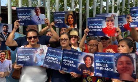 Nicaragua: Liberan presos por razones políticas bajo régimen de «convivencia familiar»