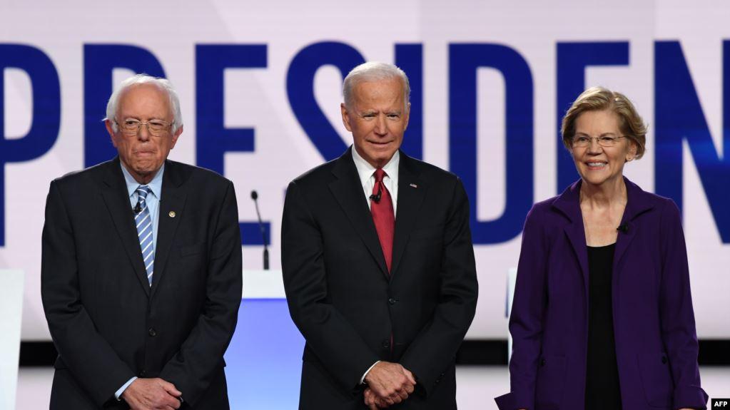 Seis aspirantes presidenciales demócratas debaten antes de votación en primer estado