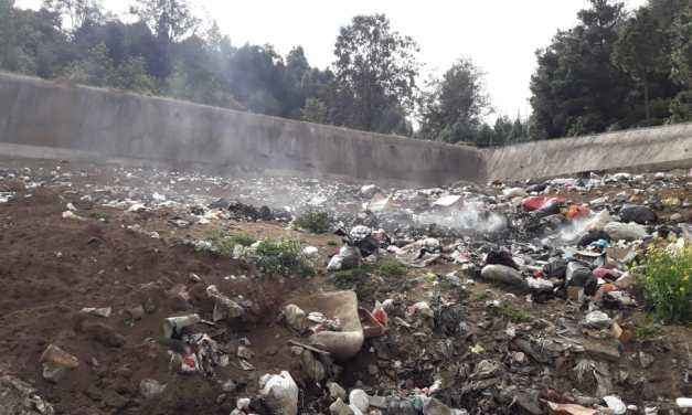 Millonario relleno sanitario en Sibilia solo se usa para quemar basura