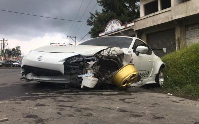 Multiple colisión ocurre en La Esperanza, Quetzaltenango