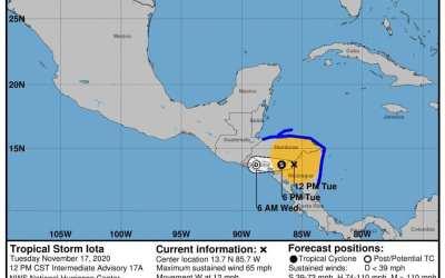Ya son más de 407 mil personas afectadas en Guatemala, a una semana de la llegada de Iota