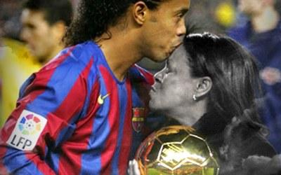 Muere la madre de Ronaldinho