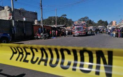 Niña hondureña muere arrollada en Terminal de Buses Minerva de Xela