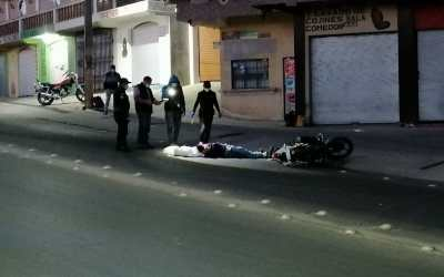 Fatal accidente deja un motorista muerto en ruta a San Juan Ostuncalco