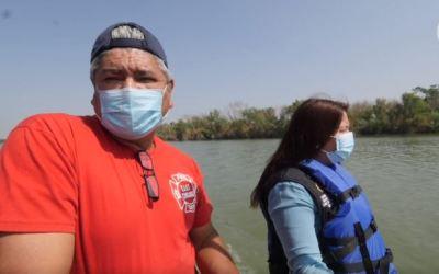 «Cuerpos atrapados» en el Río Grande: rescatistas mexicanos tienen mensaje para inmigrantes