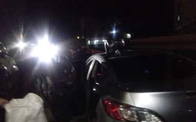 Alerta de ladrones armados en vehículo permitió captura de cuatro personas en Xela