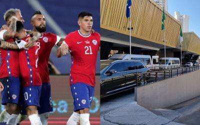 Señalan a jugadores de la Selección de Chile, de meter mujeres a su hotel de concentración