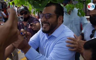Detienen a precandidato presidencial Felix Maradiaga en Nicaragua y citan a Fiscalía a otro opositor