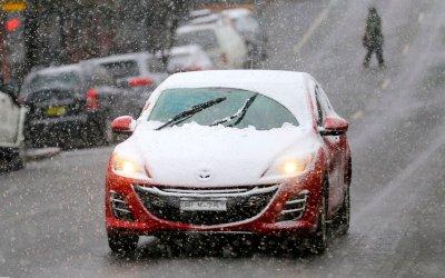 Sídney se cubre de nieve; registra su temperatura más baja en 25 años
