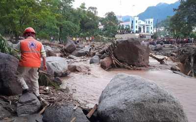 Desbordamiento de río en Sololá deja tres fallecidos, entre las victimas dos menores de 3 y 11 años de edad