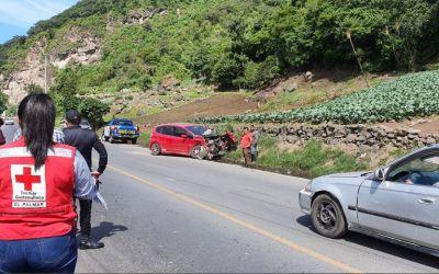 Accidente en la ruta Cito Zarco deja una persona herida