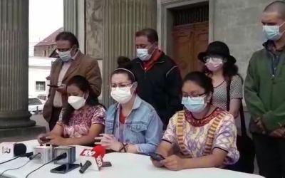 Colectivos en Quetzaltenango convocan para exigir renuncia de Giammattei y Porras