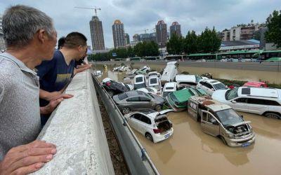 La ONU atribuye inundaciones en China y Europa al cambio climático