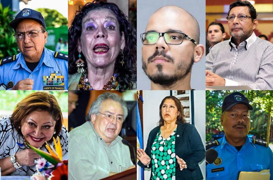 ¿Quiénes son los funcionarios de Nicaragua sancionados por la UE?