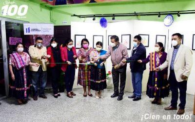 Inauguran exposición de pinturas en La Esperanza