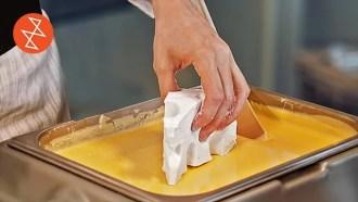 Making Marshmallow Cheese Mice