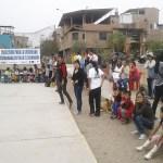 Vecinos del tercer sector se movilizaron con divertidos juegos en festival de la familia