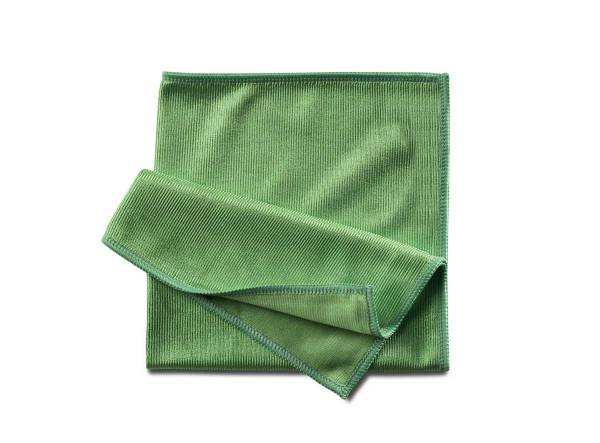 Fenstertuch Hochglanz | Grün 40x40 cm