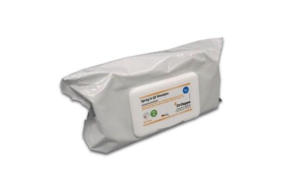DrDeppe Spray In QF Biowipes Flowpack   Desinfektionstücher alkoholisch