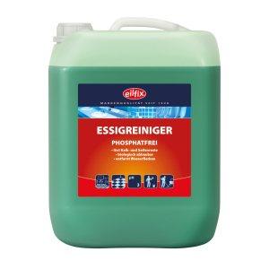 Eilfix Essigreiniger 10 L | Phosphatfreier Unterhaltsreiniger – Universalreiniger