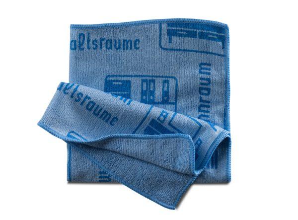 Piktotuch blau | Mikrofasertuch 1