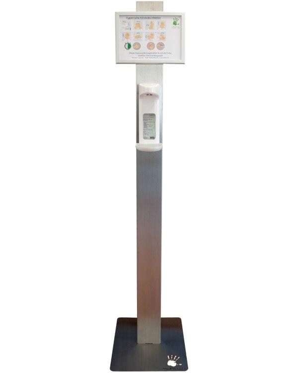 Spendersäule   mit Sensorspender 1000ml 6