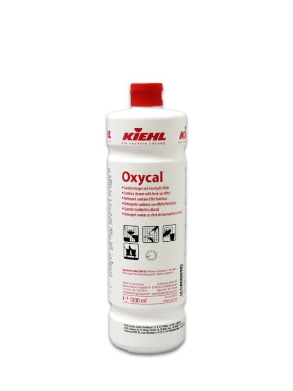 Oxycal Sanitärreiniger 1L | Sanitärunterhaltsreiniger mit Frischluft-Effekt