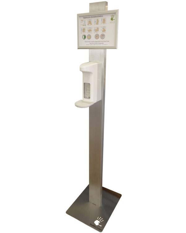 Spendersäule | mit Sensorspender 1000ml 2