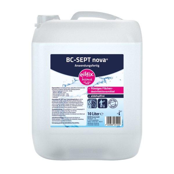 Eilfix-home BC-SEPT nova 10 L | Oberflächendesinfektion 1