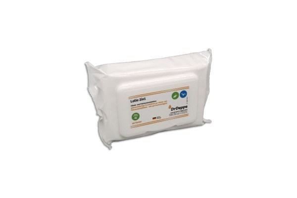 DrDeppe Lotio 2in1 Wipes Flowpack   48 Tücher 1