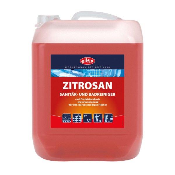 Eilfix Zitrosan 10 L | Sanitär- und Badreiniger 1