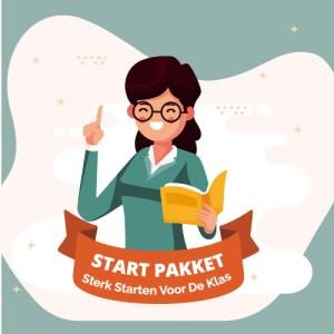 Startpakket: Sterk starten voor de klas – werkboek