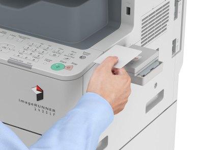 canon imagerunner copier 1435if uniflow card reader