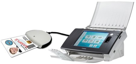 canon imageFORMULA-ScanFront 300 CAC/PIV networked document scanner