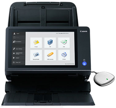 Canon imageFORMULA ScanFront 400 CAC-PIV Networked Document Scanner