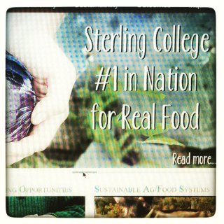 Sterling College in Vermont is #1 in the Nation for Real Food