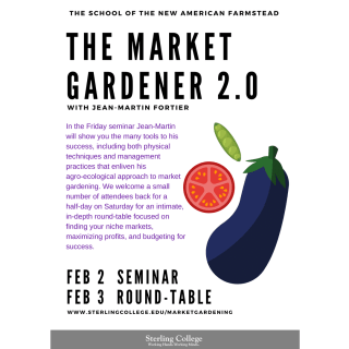 The Market Gardener 2.0 Flyer