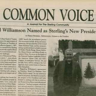 Sterling College 1996