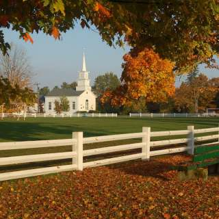 The Common is the center of the village of Craftsbury