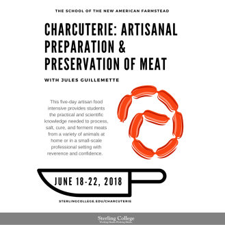 CHARCUTERIE: ARTISANAL PREPARATION & PRESERVATION OF MEAT