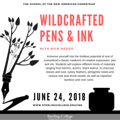 Wildcrafted Pens & Ink