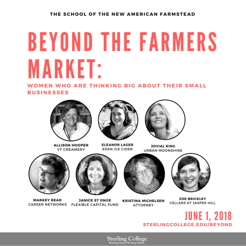 Beyond the farmers Market