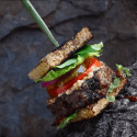 Wildcrafted Burger by Pascal Baudar
