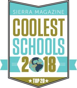 Top 20 Coolest Schools Badge