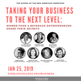 flyer for takng your business to the next level class