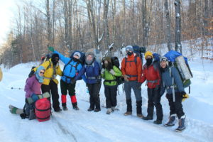 Students on Expedition in 2017