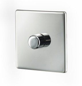 concealed dimmer switch for electric towel warmers