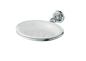 concealed fitting soap dish and holder