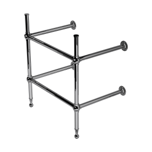 Classic Two Leg Basin Stand With Shelf Support