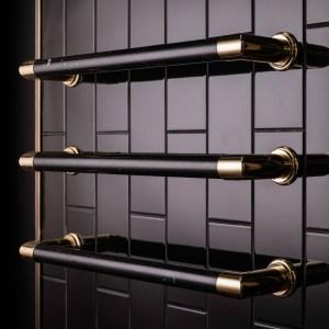 marble heated rails